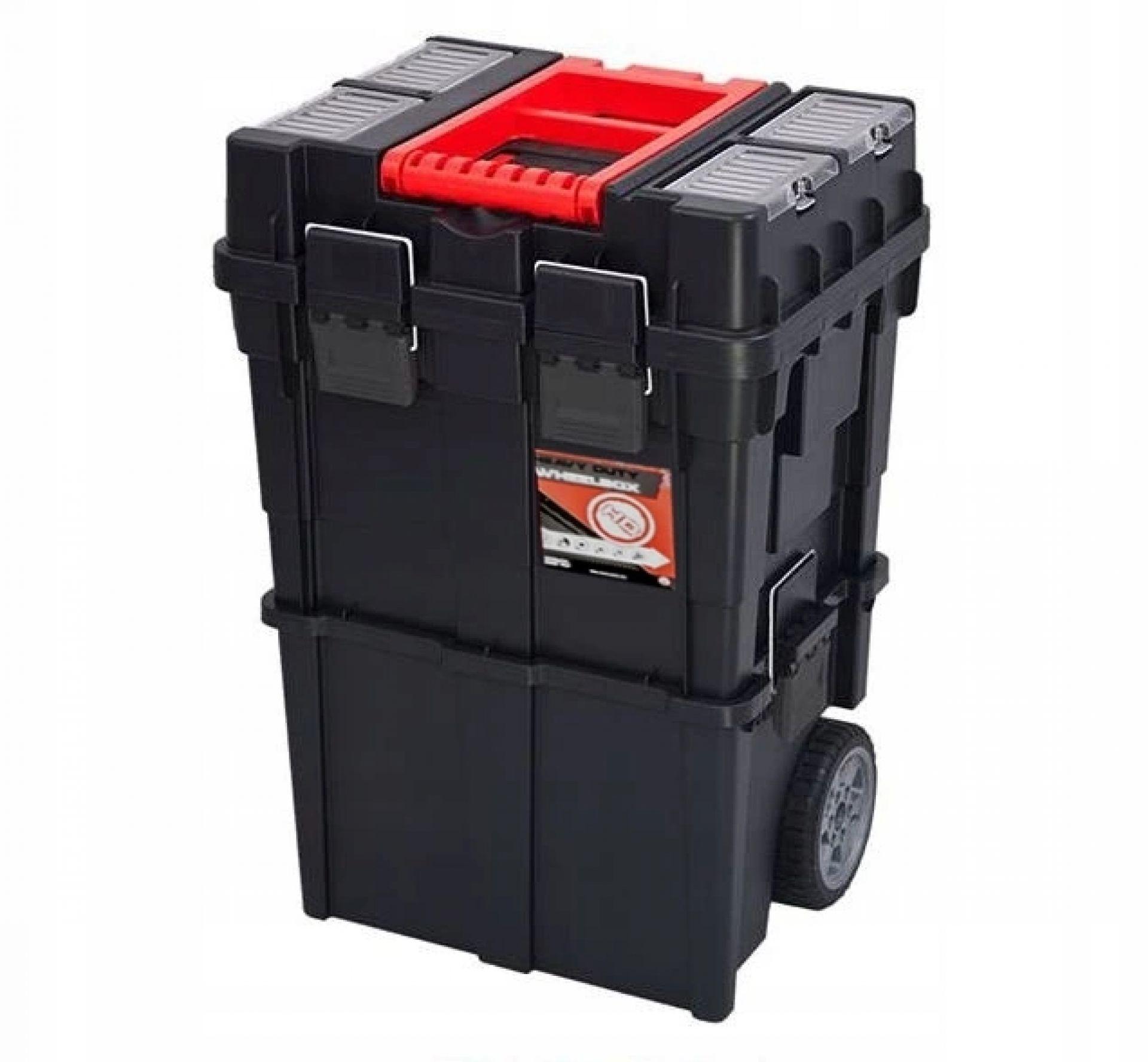 Organizer skrzynka narzędziowa na kółkach Wheelbox HD Compact